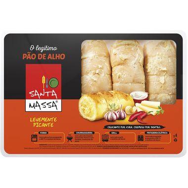 Pão de Alho com Pimenta Santa Massa Bandeja 400g