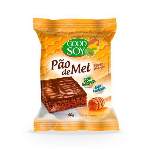 Pão de Mel Sem Lactose Sem Glúten Good Soy