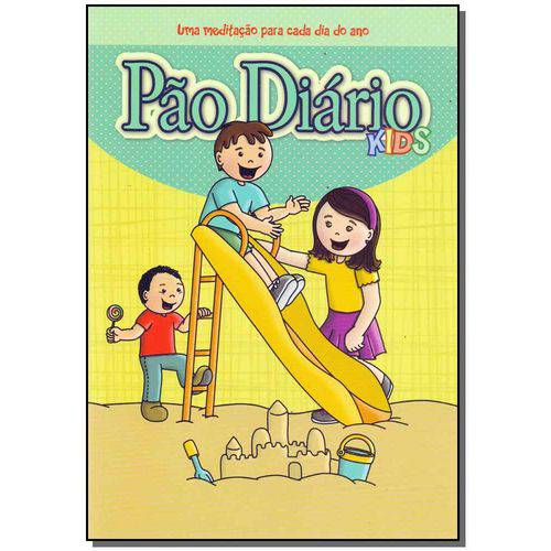 Pao Diario Kids - uma Meditacao P/ Cada