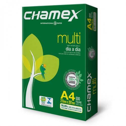 Papel A4 210x297mm 500 Folhas Multi Chamex