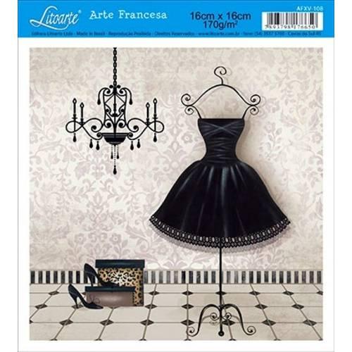 Papel Arte Francesa Litoarte Afxv-108 - Litoarte