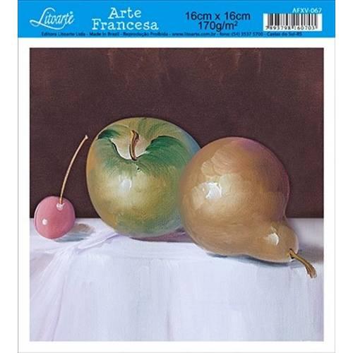 Papel Arte Francesa Litoarte Cozinha Afxv-067