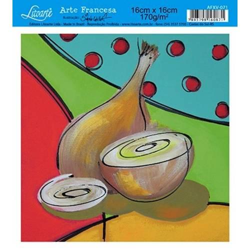 Papel Arte Francesa Litoarte Cozinha Afxv-071