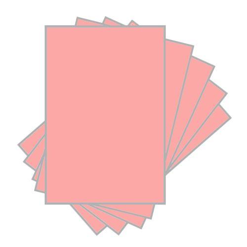 Papel Cartolina 120g Rosa - 100 Unidades 1021740