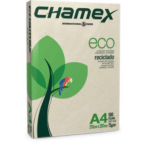 Papel Chamex Eco Reciclado A4 500 Folhas