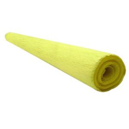 Papel Crepom Liso Amarelo 01f M Sasso