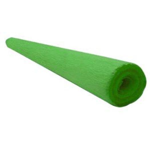 Papel Crepom Liso Verde Bandeira 01f M Sasso