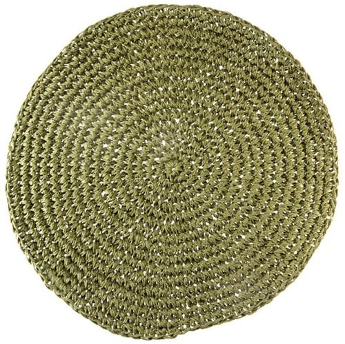 Papel Crochê Lugar Amer. Red. 38 Cm Verde Bambu