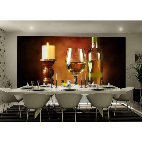 Papel de Papel 3D Vinhos 0005 - Adesivos Decorativos