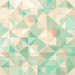 Papel de Parede Adesivo Abstrato Mint AB14062