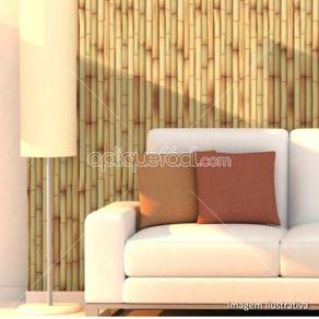 Papel de Parede Adesivo Bambu Pé na Areia BB19023