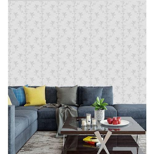 Papel de Parede Adesivo Contact Lavável Floral Minimalista