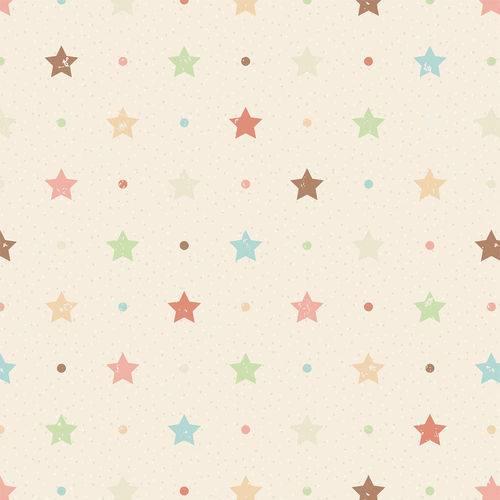 Papel de Parede Adesivo - Estrelas - N0906