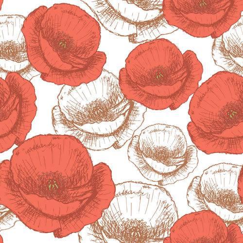 Papel de Parede Adesivo - Flores - N0060