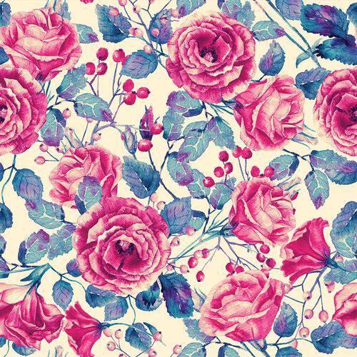 Papel de Parede Adesivo - Flores - N0092