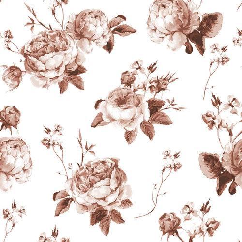 Papel de Parede Adesivo - Flores - N0148