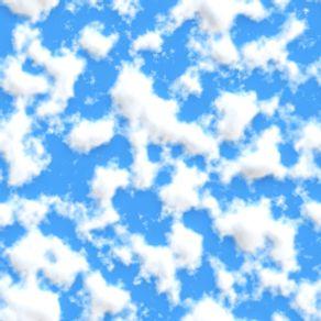 Papel de Parede Adesivo Infantil Quarto Nuvens no Meu Céu IF122388
