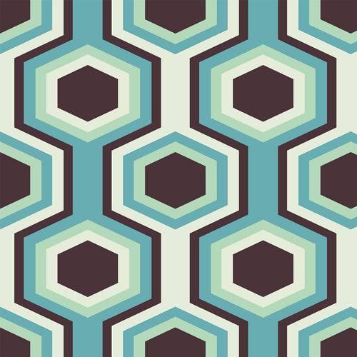 Papel de Parede Adesivo - Mosaico - N0908