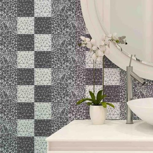 Papel de Parede Adesivo Rolo 0,58x3,00M Azulejo Abstrato 288213725