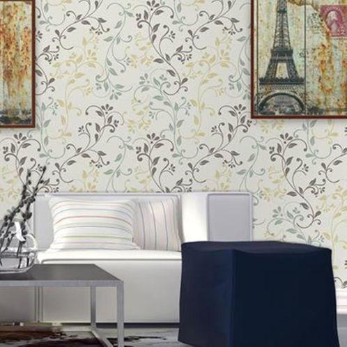 Papel de Parede Adesivo Rolo 0,58x3,00M Floral 0174