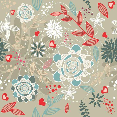 Papel de Parede Adesivo Rolo 0,58x3,00M Floral 210123