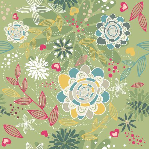 Papel de Parede Adesivo Rolo 0,58x3,00M Floral 210115