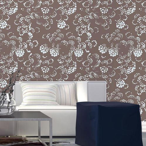 Papel de Parede Adesivo Rolo 0,58x3,00M Floral 210211