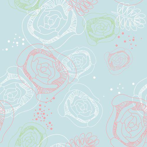 Papel de Parede Adesivo Rolo 0,58x3,00M Floral 210113