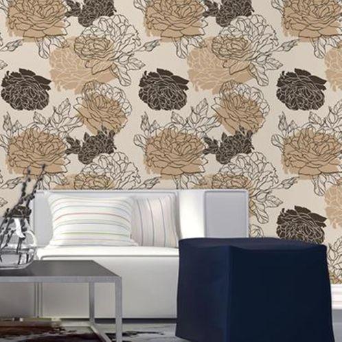 Papel de Parede Adesivo Rolo 0,58x3,00M Floral 210126
