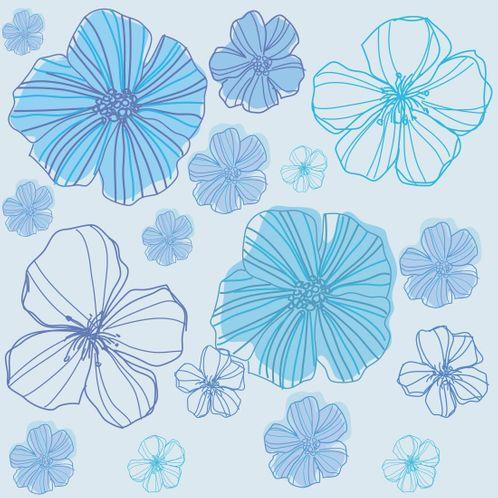 Papel de Parede Adesivo Rolo 0,58x3,00M Floral 210186