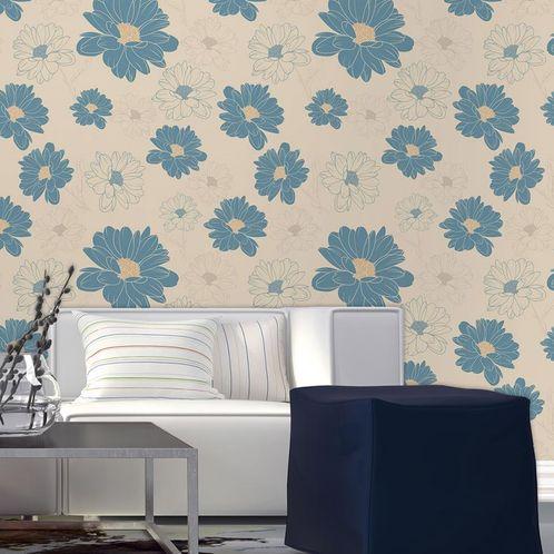 Papel de Parede Adesivo Rolo 0,58x3,00M Floral 210183