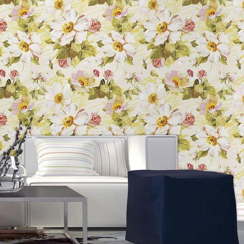 Papel de Parede Adesivo Rolo 0,58x3,00M Floral 108206663
