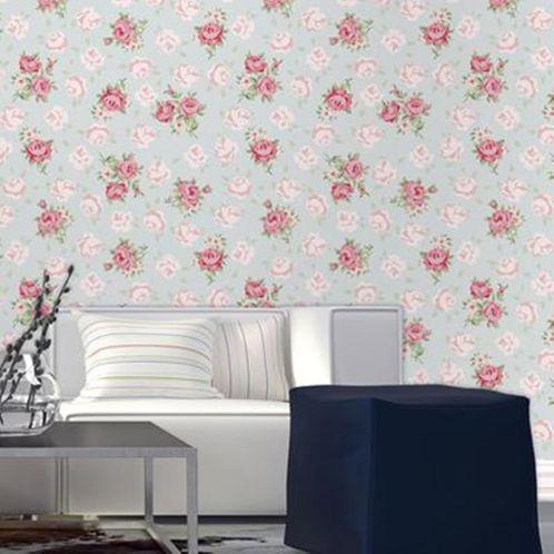 Papel de Parede Adesivo Rolo 0,58x3,00M Floral 121118587