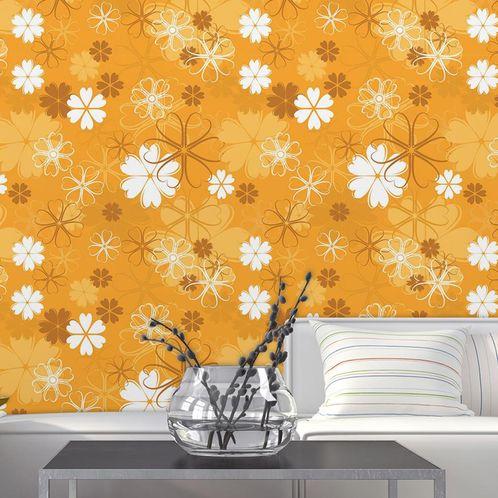 Papel de Parede Adesivo Rolo 0,58x3,00M Floral 14