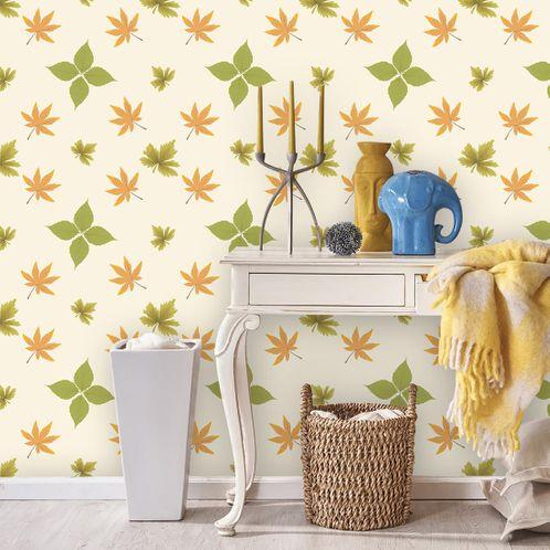 Papel de Parede Adesivo Rolo 0,58x3,00M Floral 1261