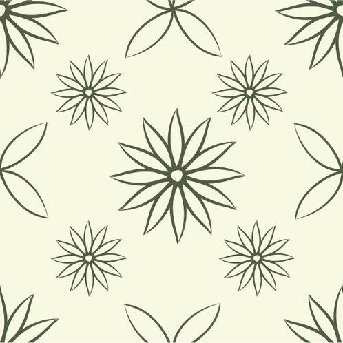 Papel de Parede Adesivo Rolo 0,58x3,00M Floral 1264