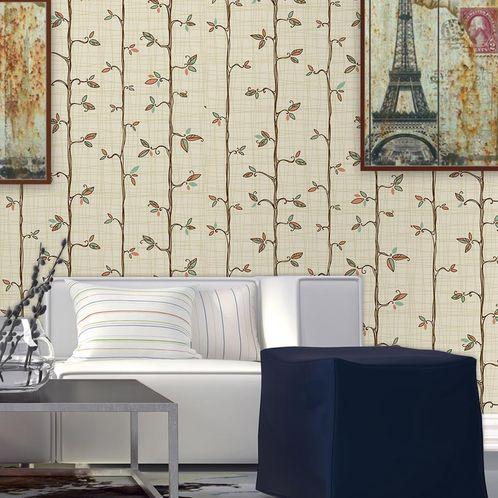 Papel de Parede Adesivo Rolo 0,58x3,00M Floral 136380026