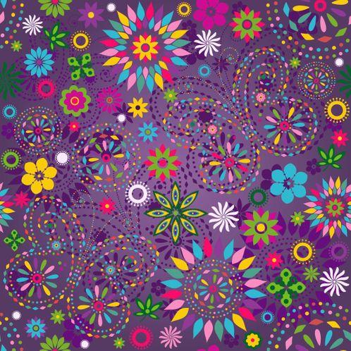 Papel de Parede Adesivo Rolo 0,58x3,00M Floral 136971668