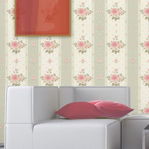 Papel de Parede Adesivo Rolo 0,58x3,00M Floral 179186951