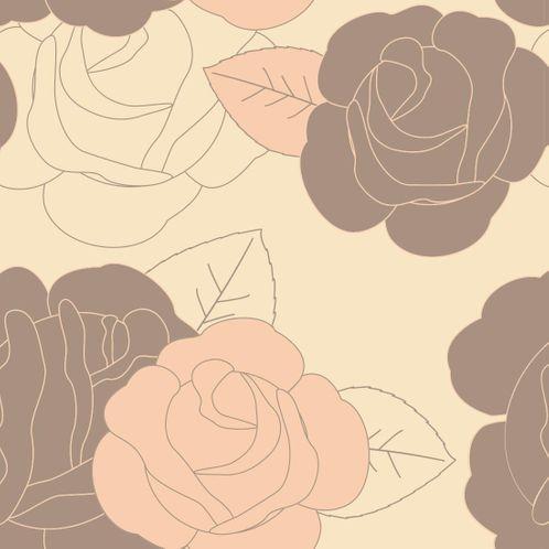 Papel de Parede Adesivo Rolo 0,58x3,00M Floral 478