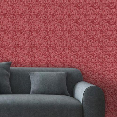 Papel de Parede Adesivo Rolo 0,58x3,00M Floral 495