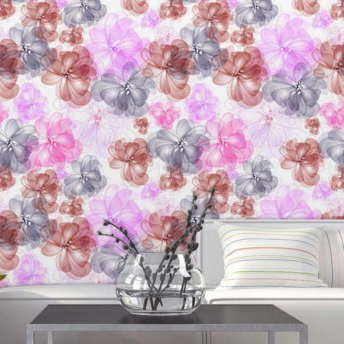 Papel de Parede Adesivo Rolo 0,58x3,00M Floral 562