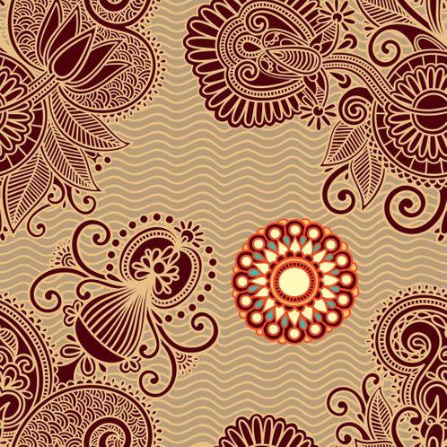 Papel de Parede Adesivo Rolo 0,58x3,00M Floral 25