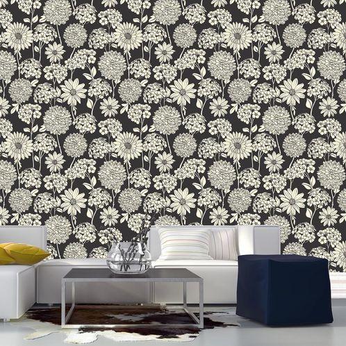 Papel de Parede Adesivo Rolo 0,58x3,00M Floral 660