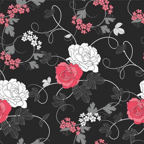 Papel de Parede Adesivo Rolo 0,58x3,00M Floral 679