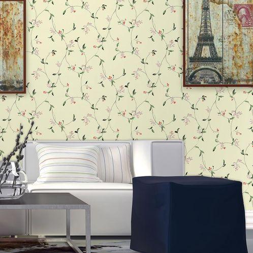 Papel de Parede Adesivo Rolo 0,58x3,00M Floral 695