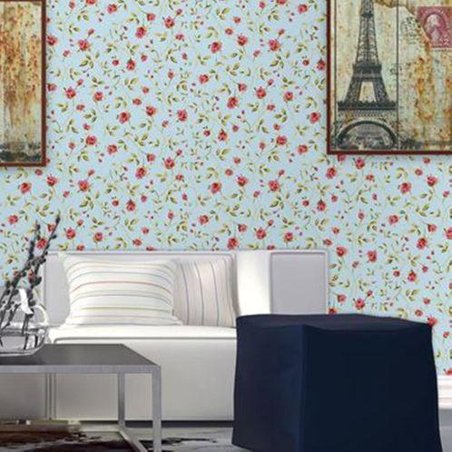 Papel de Parede Adesivo Rolo 0,58x3,00M Floral 226