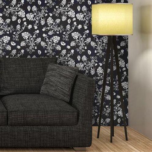 Papel de Parede Adesivo Rolo 0,58x3,00M Floral 283