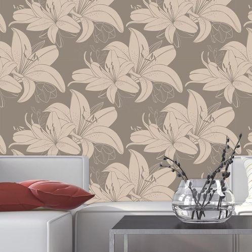 Papel de Parede Adesivo Rolo 0,58x3,00M Floral 93016570