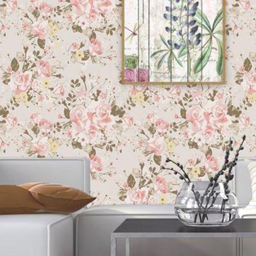 Papel de Parede Adesivo Rolo 0,58x3,00M Floral 95222134